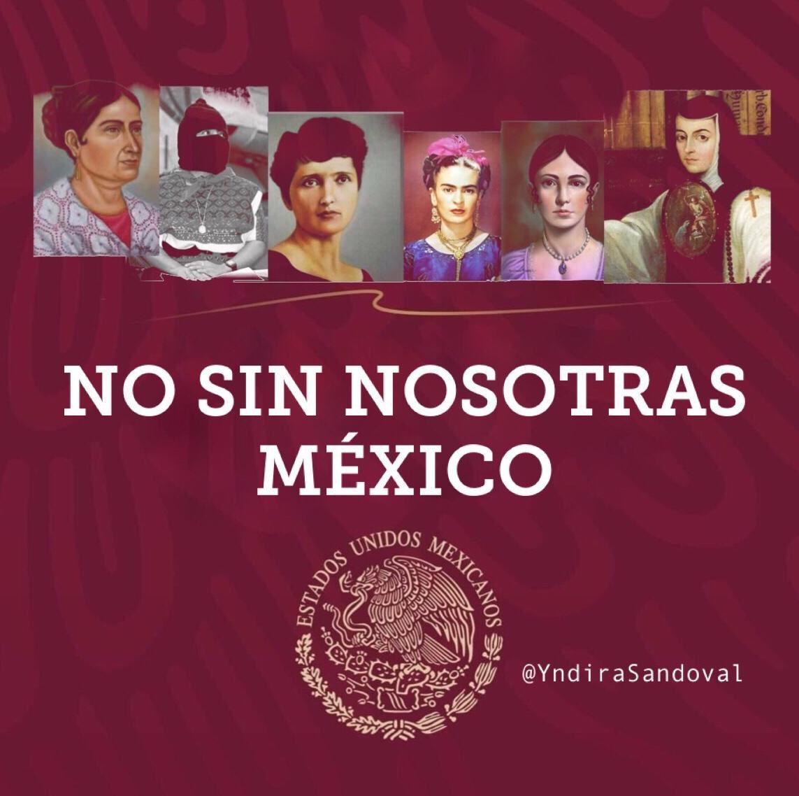 RT @MarthaTagle: #NoSinNosotras @lopezobrador_ https://t.co/8w5RlXidRN