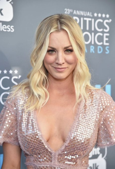 Happy birthday to a great actress kaley cuoco