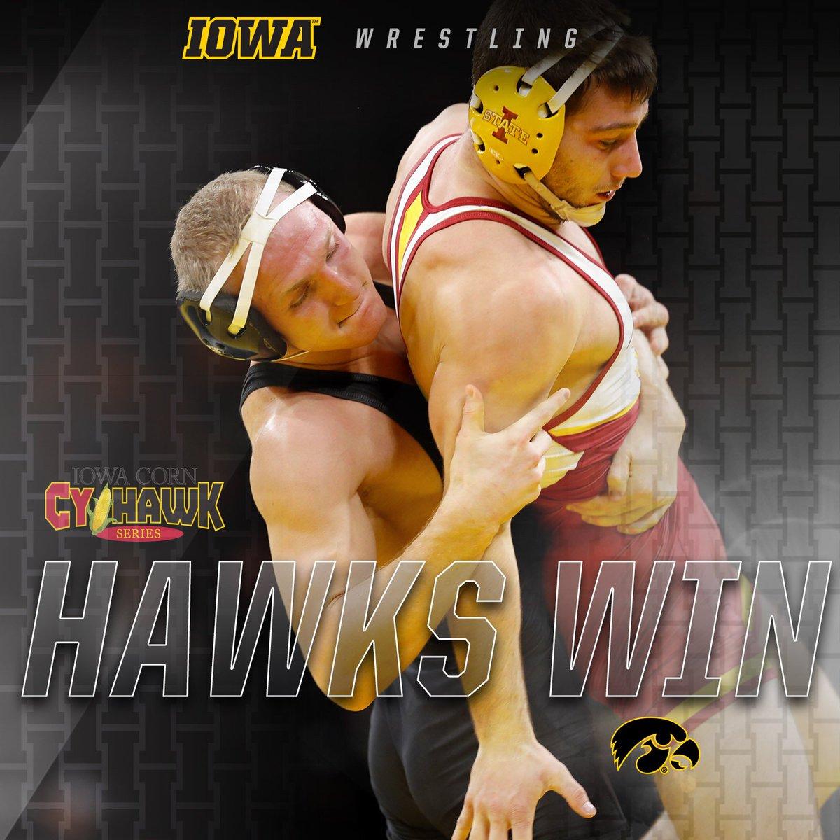 FINAL: #Hawkeyes 19, Iowa State 18 #FightForIowa  #IowaCornCyHawkSeries