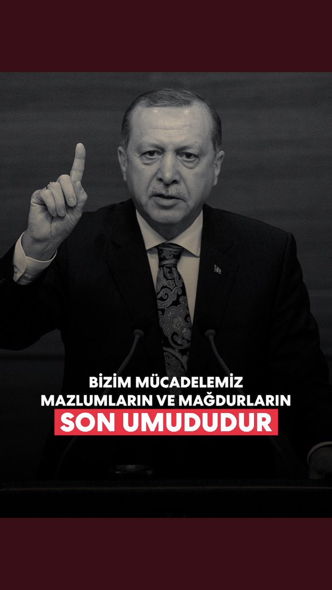 Hakkın, adaletin ve hakikatin sancaktarı lider...   #WeLoveErdogan #WeLoveErdogan https://t.co/d8bznrtvfv