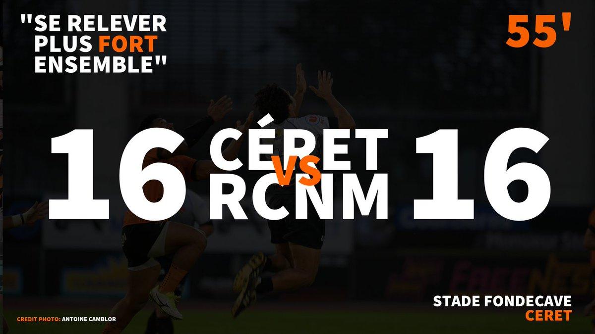 #CSRCNM | LIVE-SCORE  Essai de pénalité pour NARBONNE !!!  #RCNM #RUGBY...