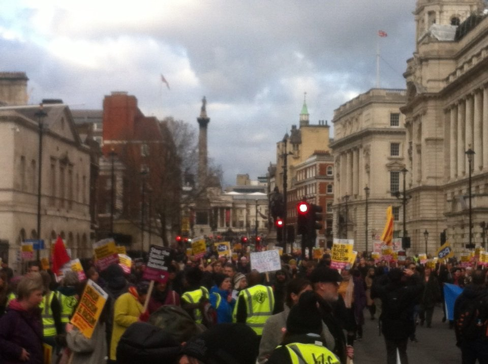 test Twitter Media - Great march today against cheap thug Yaxley-Lennon and his pals. There are many more of us than there are of you... https://t.co/oLr7ylVrRZ