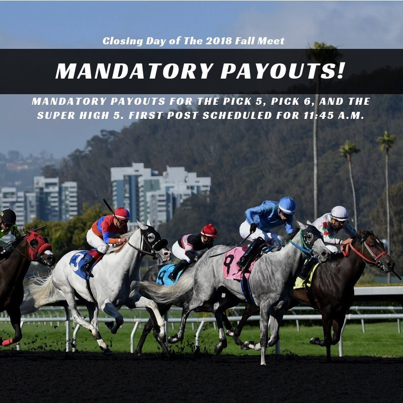Don't forget, its Closing Day at @GGFracing, which means mandatory payouts! Get on it! 💴 https://t.co/jBizGLh5YD
