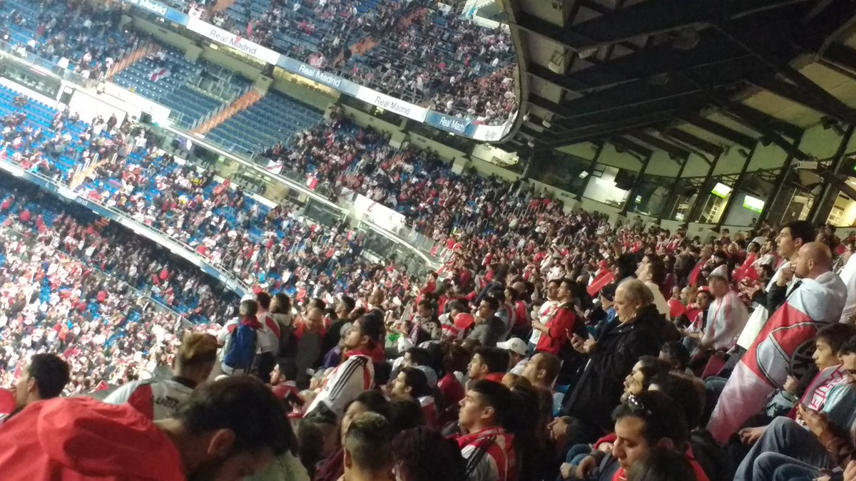 test Twitter Media - Zona #River  #Libertadores #CopaLibertadores #Bernabéu https://t.co/pgBwZ9HUN8