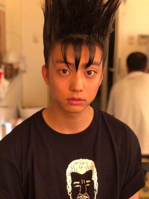 福田さんに対抗して、 ポートレートモードの健太郎をあげさせて頂きます👍 ちょっとぶりっ子です。 #今日から俺は