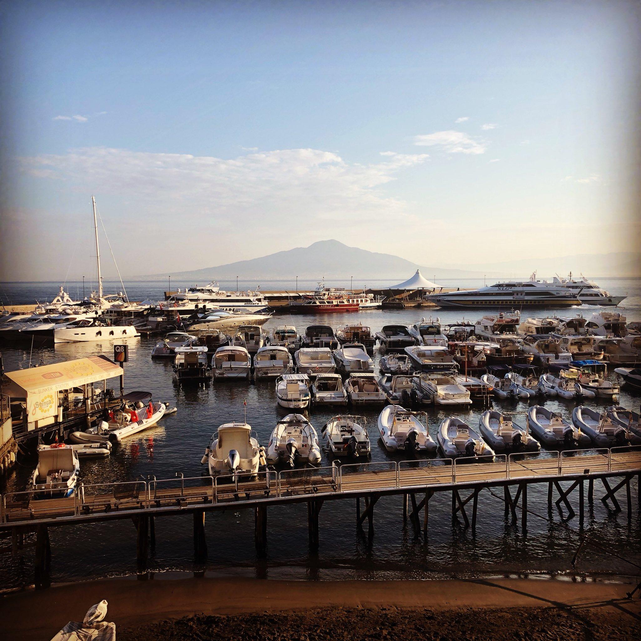 @TravelGov #PhotoChallenge #Travelgram Sorrento, Italy on a quiet morning with Mount Vesuvius in the horizon https://t.co/lQqZ8wRwN2