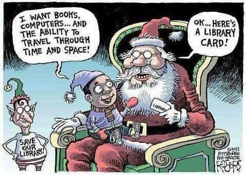 The average librarian will have this shared to their timeline 142 times this December https://t.co/cj70gUc2PT