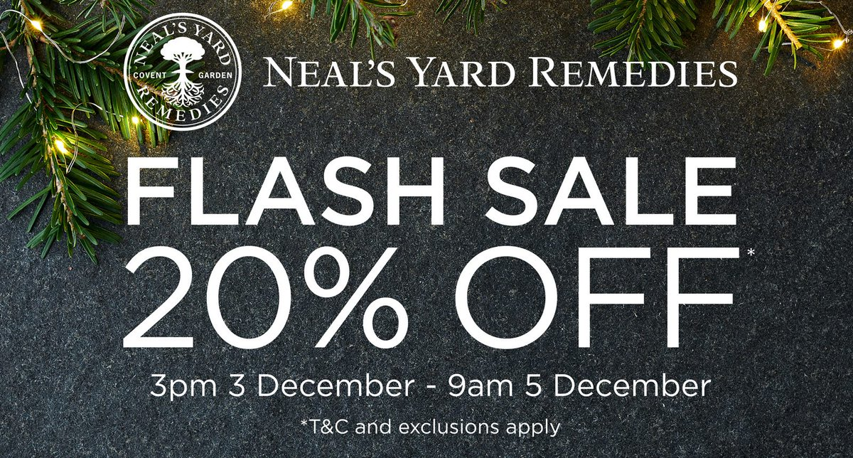 Enjoy 20% off everything from 3pm today at https://t.co/Gpm5T7l0vG https://t.co/c77jjqhTlJ