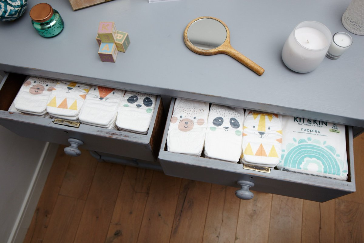 RT @KitandKinUK: The nappy drawer of dreams ???? https://t.co/Vfj0m9OO1K