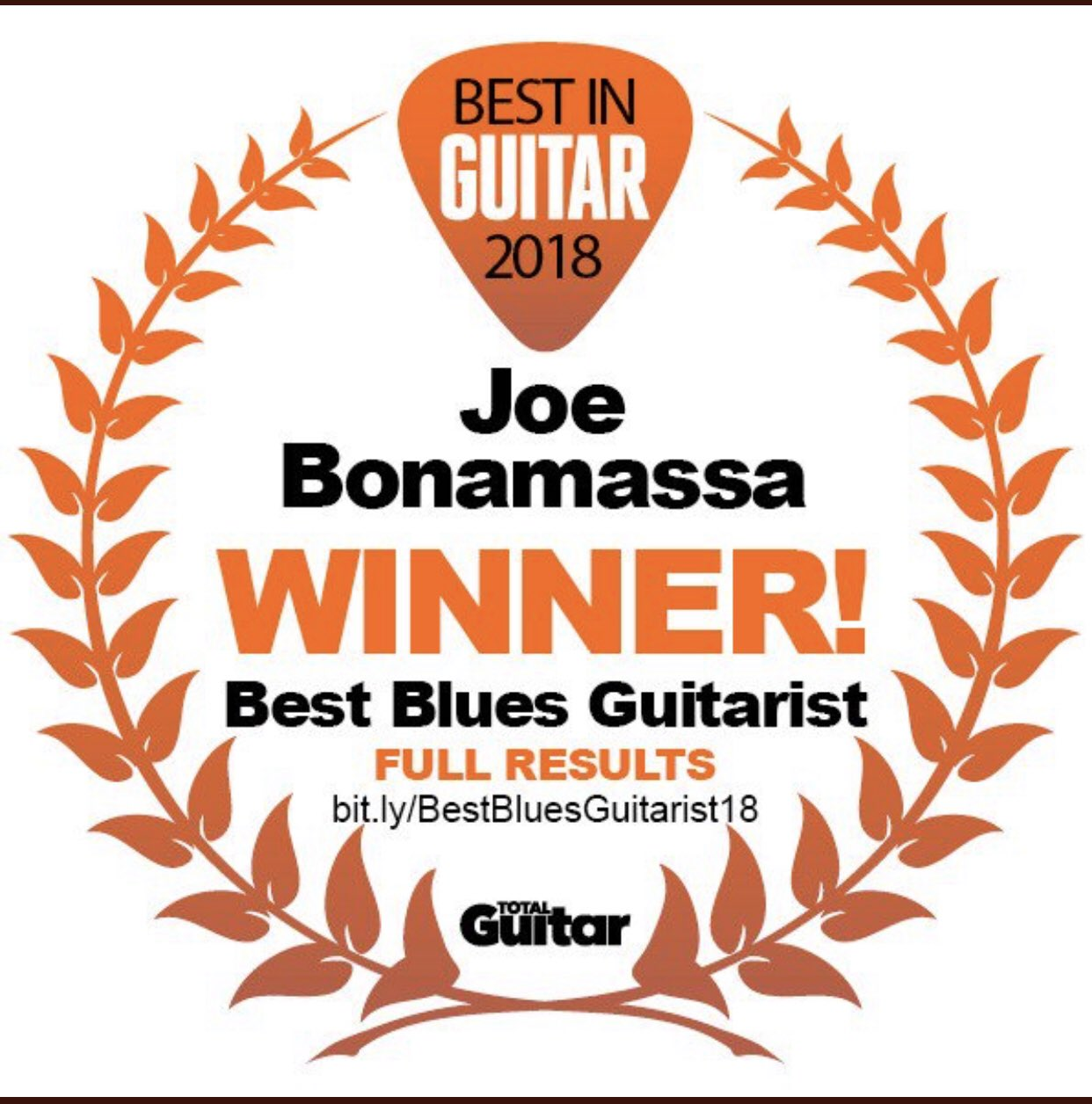 Thank you!!  I am very very honored by this. @MusicRadar @TotalGuitar 😎👍 https://t.co/aCHuXSRnmT