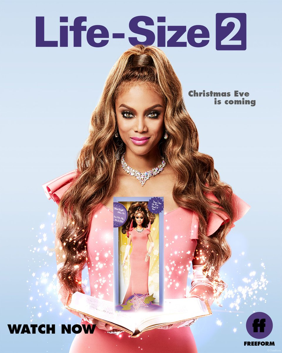 RT @FreeformTV: Eve is waiting for you.  Watch #LifeSize2 now on @Hulu, on demand and https://t.co/unbifcDiDh. https://t.co/4lrhbqOmdV