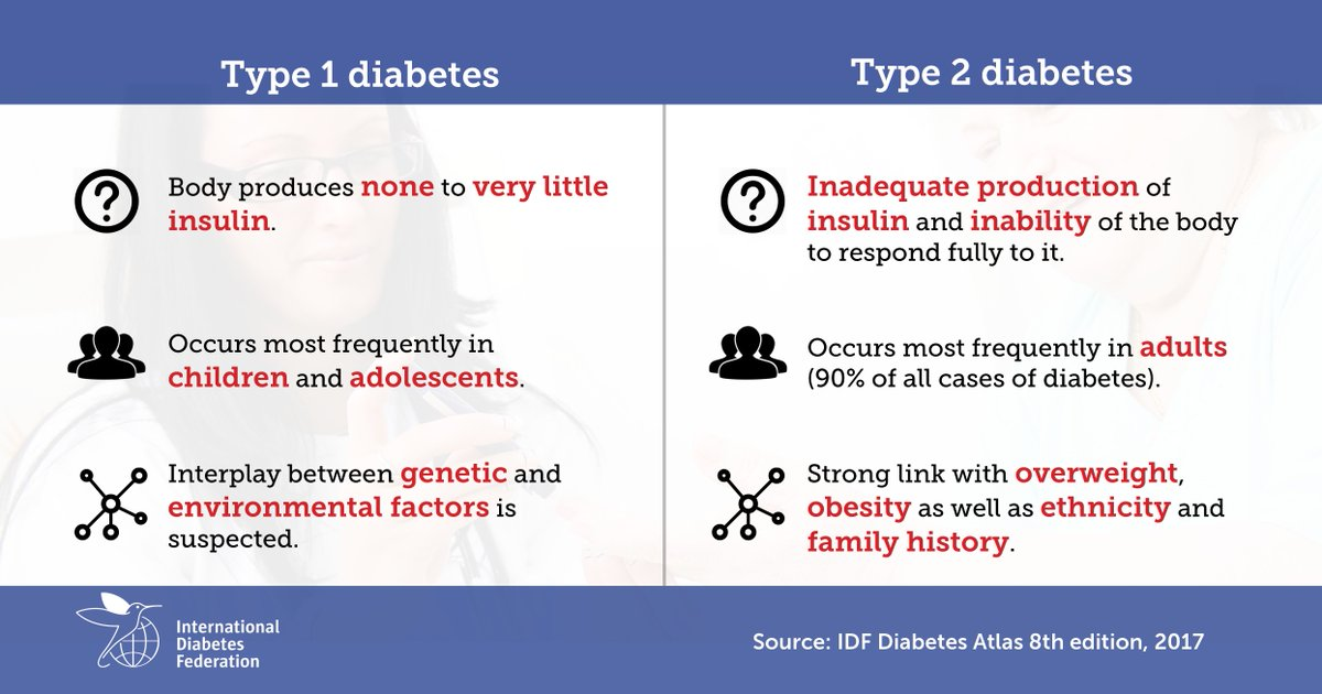 test Twitter Media - Do you know the difference between type 1 and type 2 #diabetes? Learn more about the main types of diabetes to improve your knowledge and understanding of the condition: https://t.co/RmbyhbnbGU https://t.co/bLHdYooAIE
