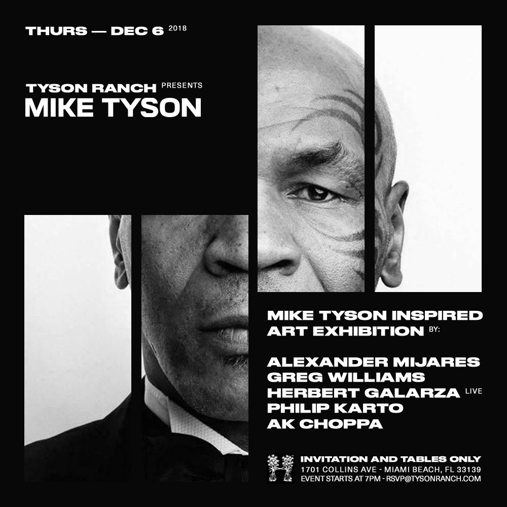 Miami in 2 days... #artbasel #tysonranch https://t.co/9AHyQeA1JW