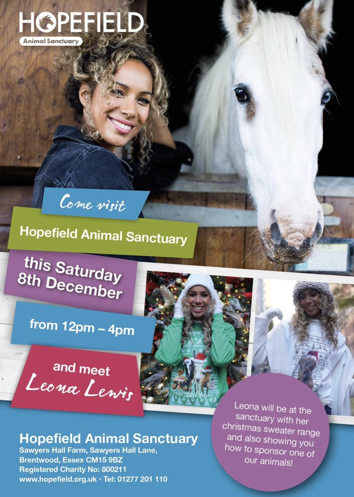 Come join me and our animals this Saturday @hopefieldanimalsanctuary in Essex 12pm-4pm ! See you there ???? https://t.co/nDPBdRQaoE