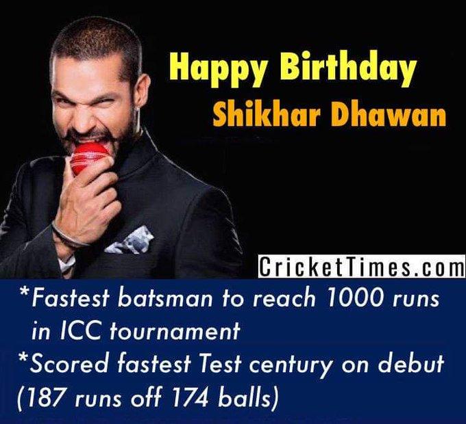 birthday shikhar dhawan.  Our most loving gabber baaji