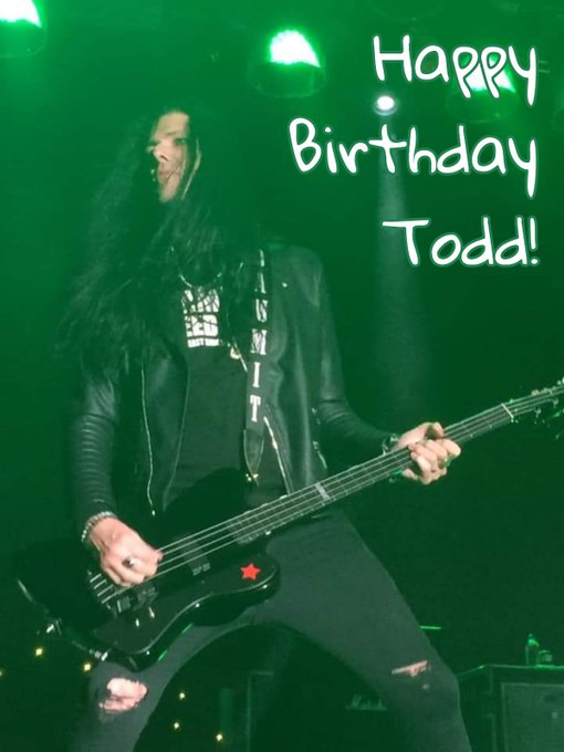 Happy Birthday to the one and only Todd Kerns!