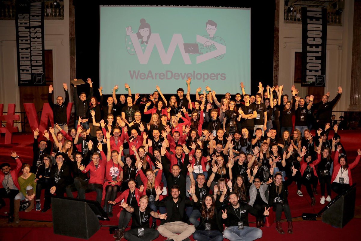 RT @WeAreDevs: Meet the team! #wearedevs #aicon18 https://t.co/XfTHj6ETHp