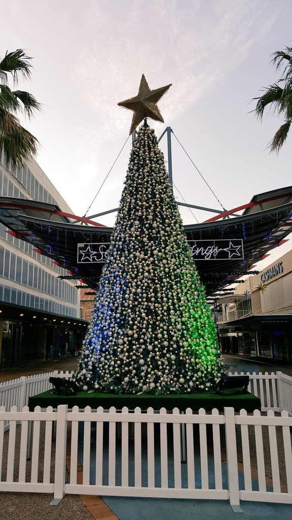 Christmas is coming at @cityofdarwin #beautiful https://t.co/agh6w9J7DX