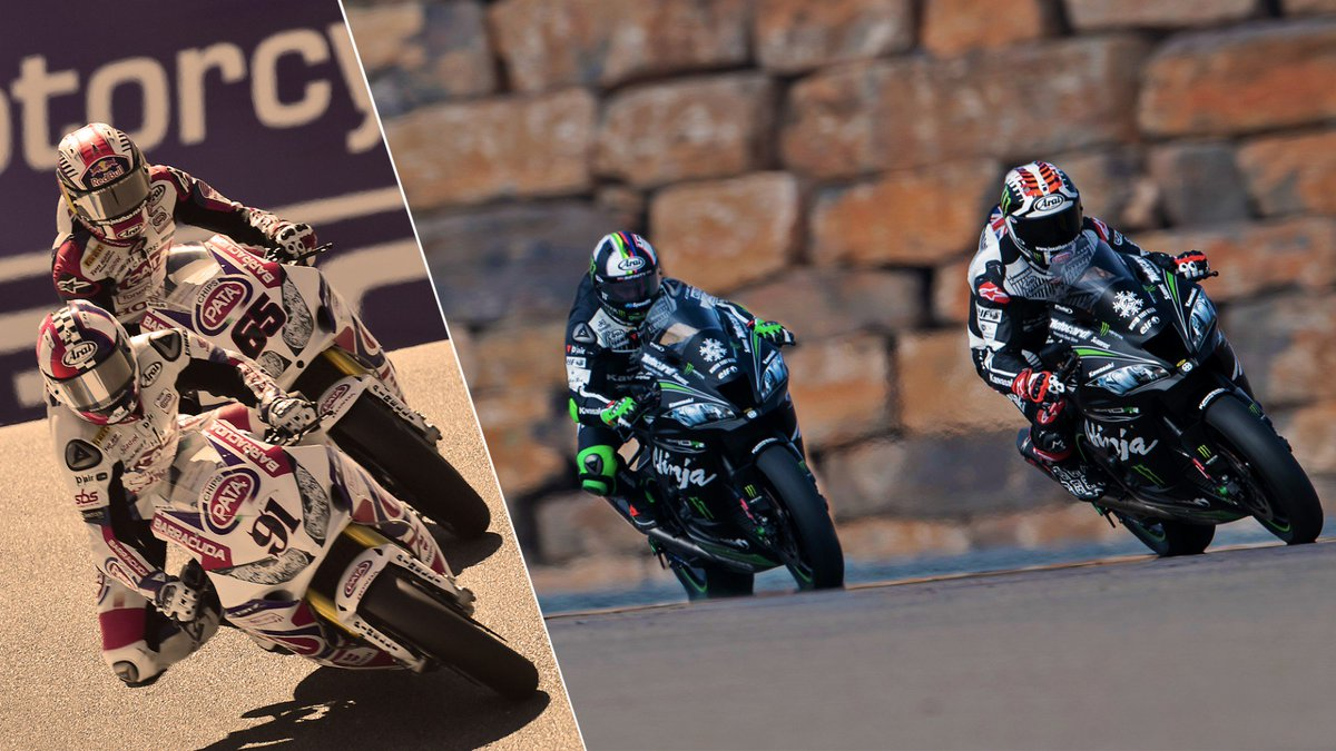 test Twitter Media - .@jonathanrea and @realleonhaslam – From Honda to Kawasaki  They were team-mates back in 2013 and 2014 and we will see them join forces once again  📃 | #WorldSBK https://t.co/TL7l1CqI66 https://t.co/KLQ7s8RVA5