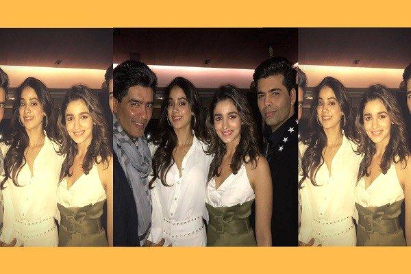 Karan Johar Happy to wish Manish Malhotra on hisBirthday