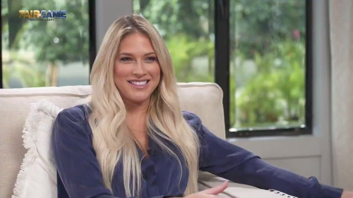 RT @KristineLeahy: Former @WWE wrestler @TheBarbieBlank is on the show today. You definitely want to watch this one. https://t.co/4PnZF1kFv9