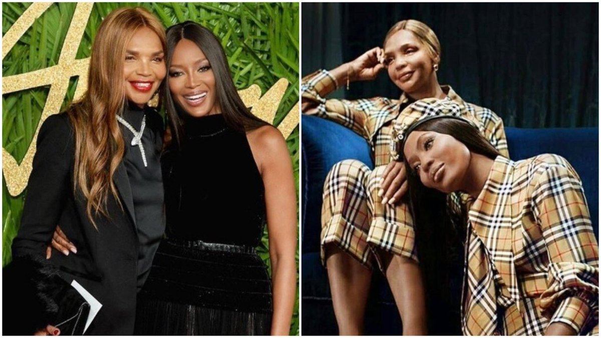 RT @legitngnews: Stunning photos of supermodel @NaomiCampbell and her gorgeous mum https://t.co/B5W89m1VqI https://t.co/rcTmg8Lav3