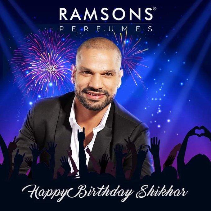 Wish you a great Happy Birthday!   Shikhar Dhawan