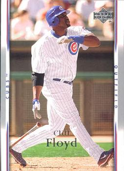 Happy Birthday, Cliff Floyd. Cliff played 108 games with the 2007 Cubs.