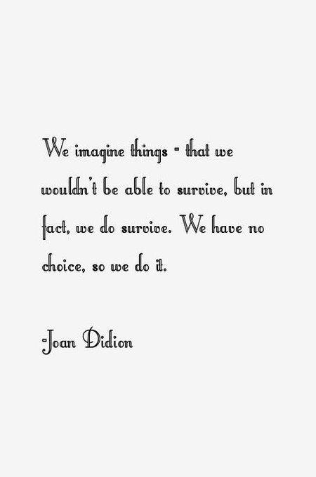 Happy birthday to my literary hero, Joan Didion