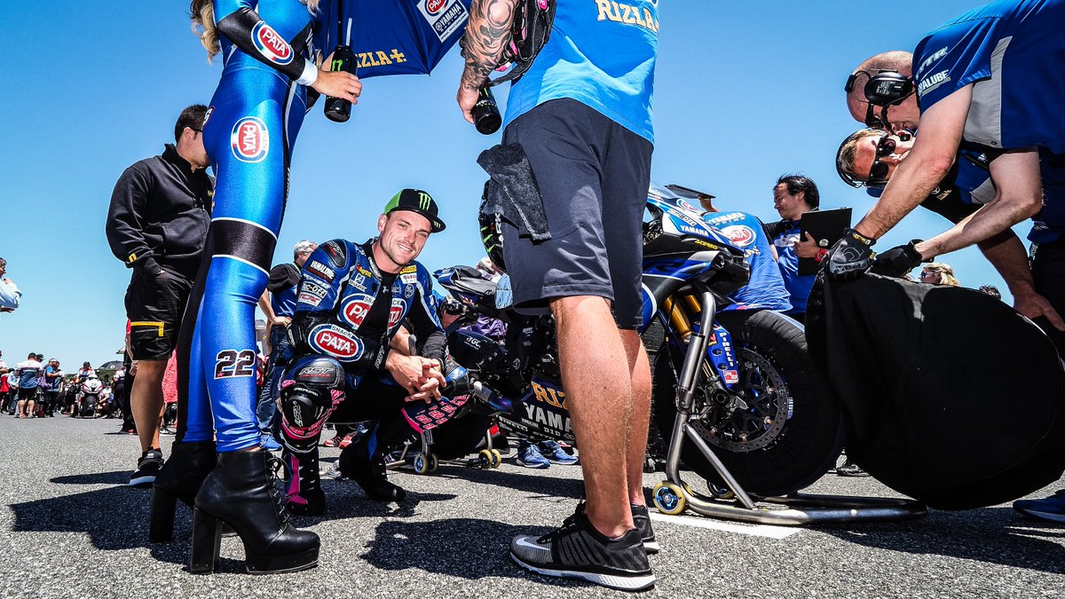 test Twitter Media - ✍️Grid tip: keep smiling even when you are trying to focus! @alexlowes22 @patayamahawsbk @yamaharacingcomofficial #WorldSBK https://t.co/PyI4hmMDau