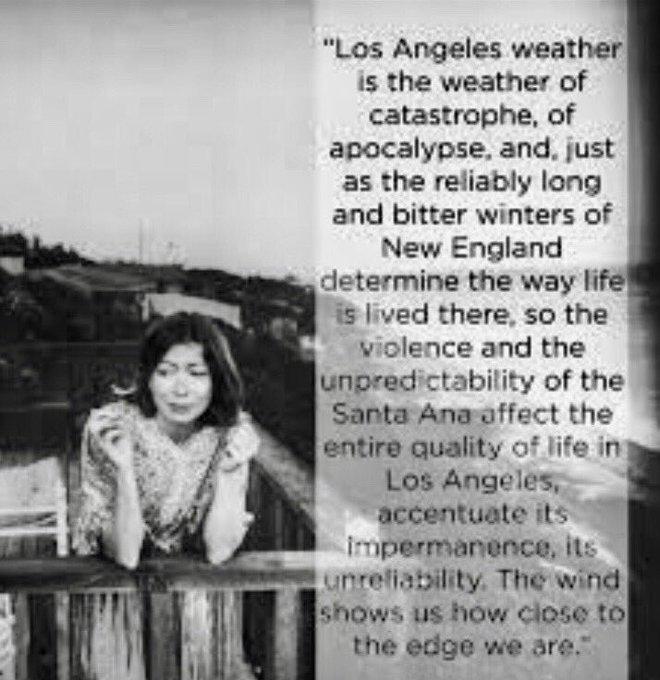Happy birthday, Joan Didion. My hero.