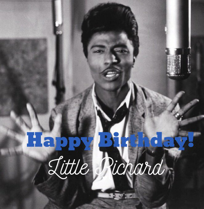 Happy Birthday Little Richard, you rock\nroller! 86 today!   Coming up at 11 am! Artists Talk with DJ Laura.
