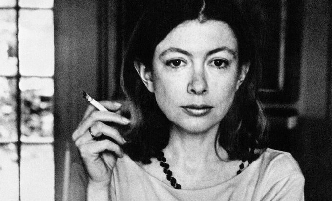 Happy birthday to Joan Didion on her 84th trip around the sun.