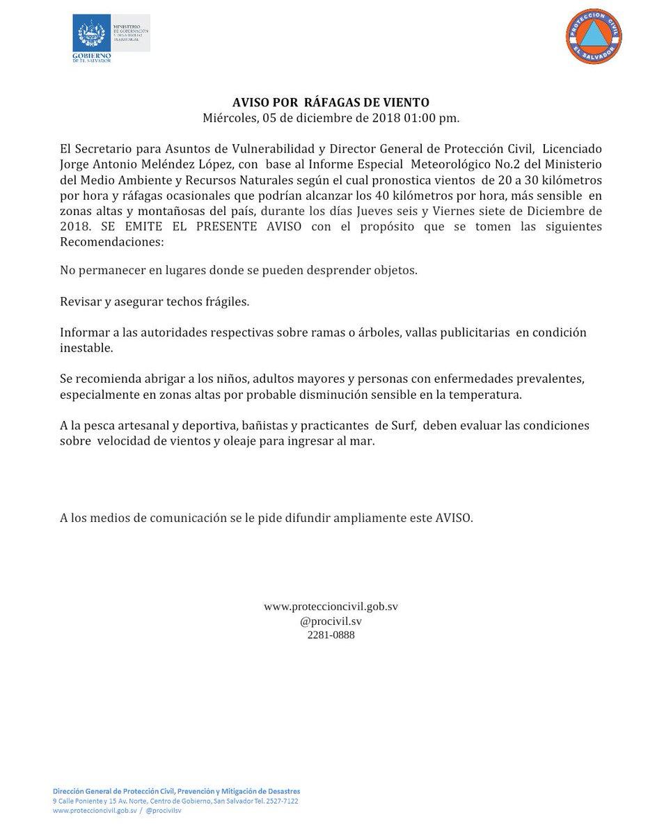 Srio Asuntos de Vulnerabilidad y Dir Gral Protección Civil Jorge Meléndez emite AVISO por vientos https://t.co/7TzqtXv8yw