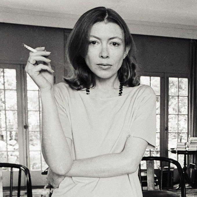 Happy Birthday to Joan Didion, who will obviously one day be played in a biopic by Tavi Gevinson