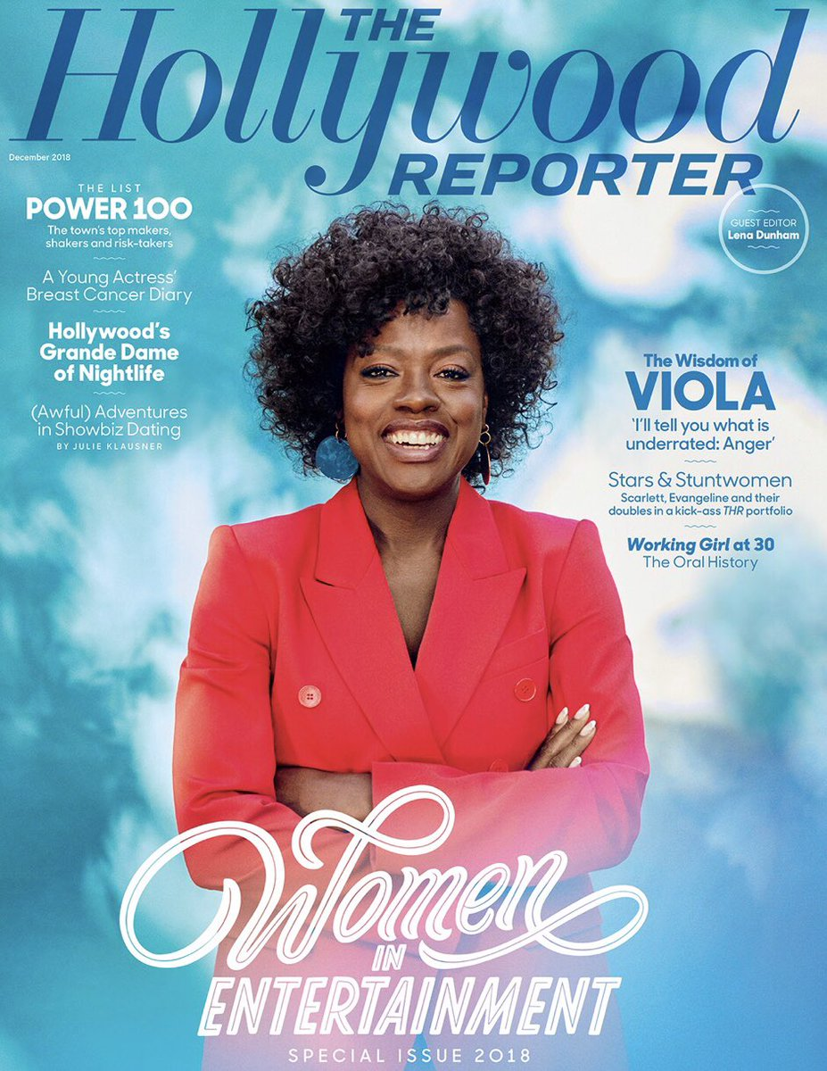 An honor and a privilege! @violadavis @julieklausner @angelatrimbur @THR https://t.co/XTvJ9E1Dhm