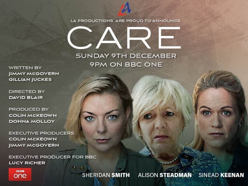 RT @SineadKeenan: Very proud to have been a part of this. Sunday at 9pm on BBC1 #Care @LAProductionsUK @BBCOne https://t.co/12dnxGZFrs
