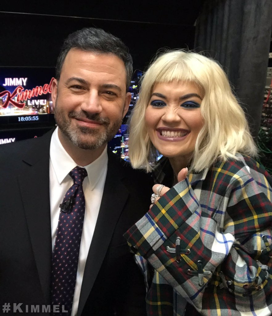 RT @JimmyKimmelLive: Backstage at #Kimmel with @RitaOra #LetYouLoveMe https://t.co/jB7vgw4Zlg