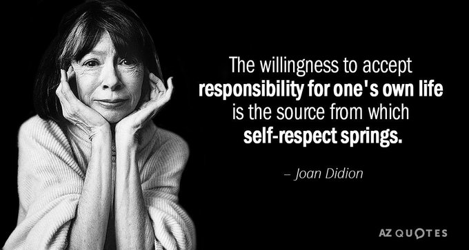 Happy Birthday to Joan Didion (1934).