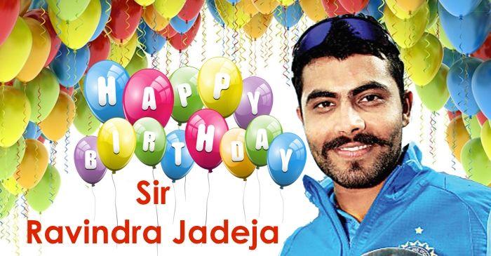 Happy Birthday, Ravindra Jadeja