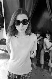 It s 70s California in my heart, happy birthday Sagittarius Queen Joan Didion