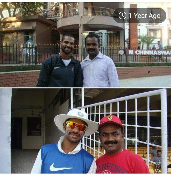 HAPPY BIRTHDAY Mr SHIKHAR DHAWAN BRO i\m Sugumar RCB super Fan BORN TO ENCOURAGE SPORTS