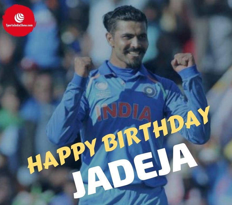 Sir Ravindra Jadeja wishing you a very very happy birthday!! .