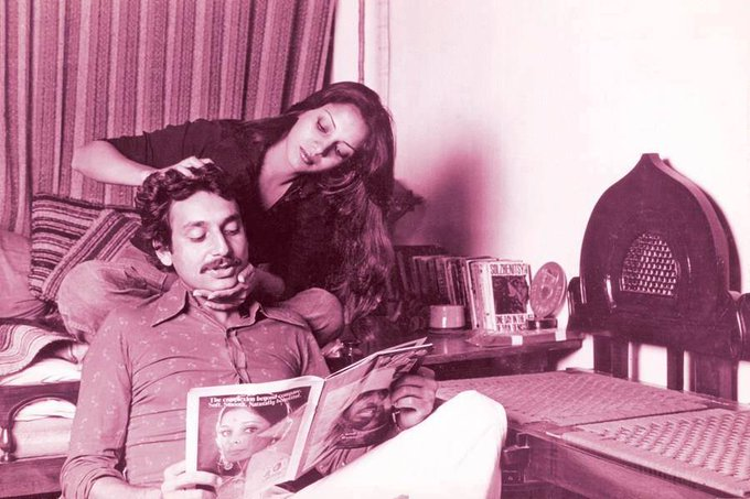 Happy Birthday, Shekhar Kapur. In this photo, he is with Shabana Azmi.