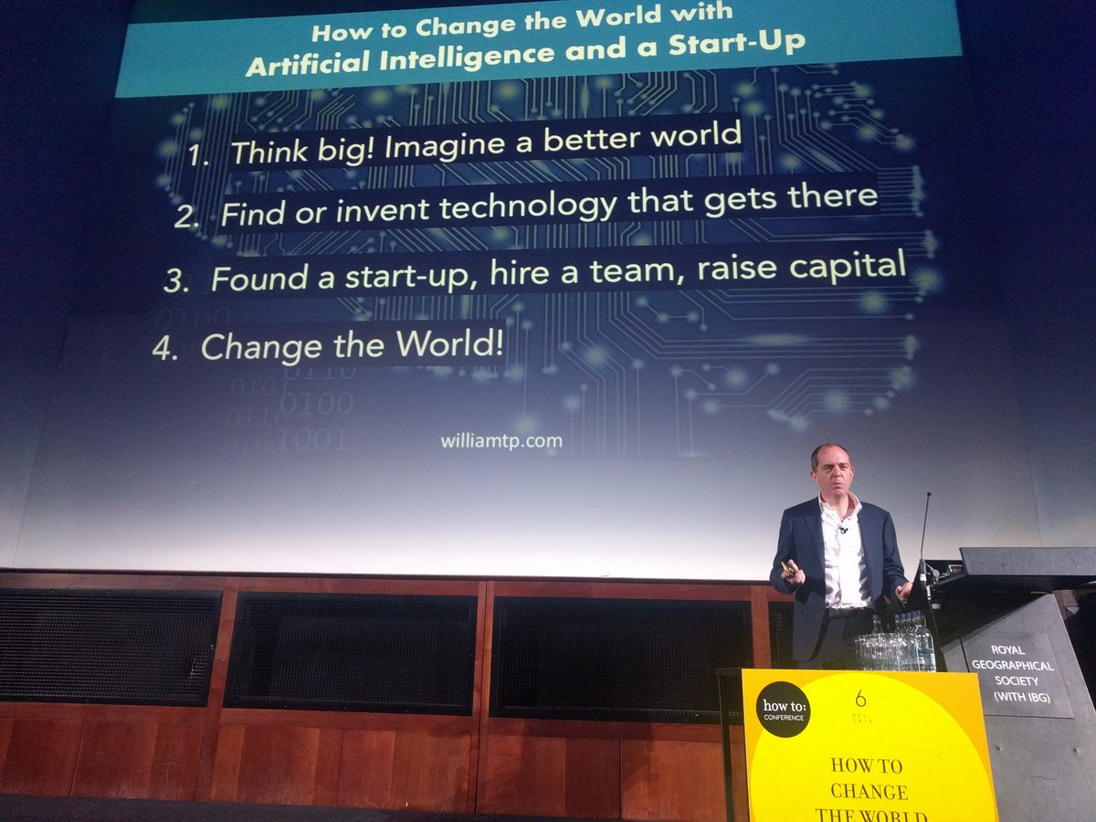 test Twitter Media - Instructions for changing the world with AI from the man who created Amazon Alexa @williamtp #ChangeTheWorld https://t.co/aYVoaWvNuC