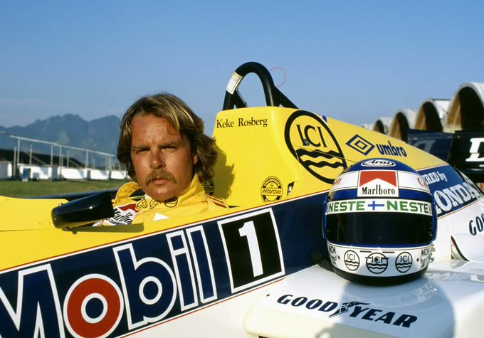 Happy 70th birthday Keke Rosberg.