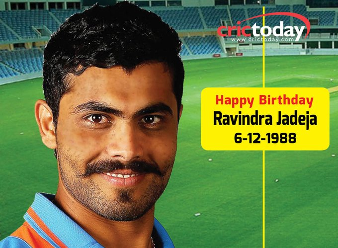 Wishing Sir Ravindra Jadeja A Very Happy Birthday.....