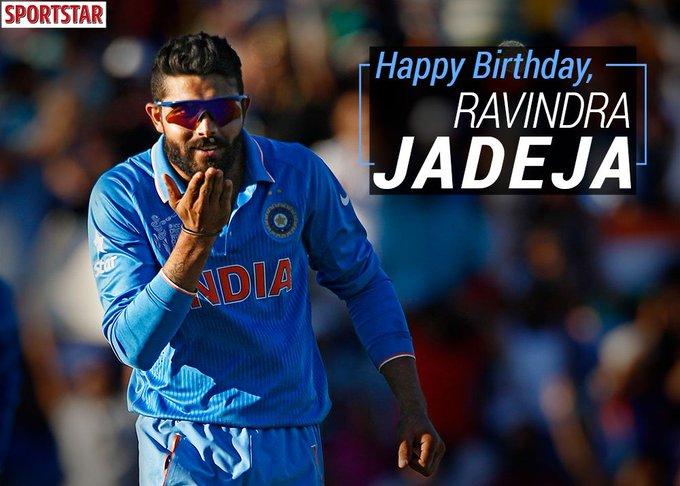 Sportstar wishes the flamboyant Ravindra Jadeja ( a very happy birthday.