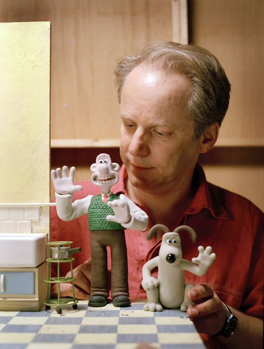 The animator, director and writer Nick Park celebrates his 60th birthday today.   Many happy returns Nick!