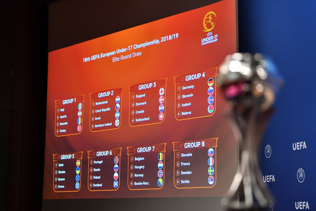 See the #U17EURO elite round draw: 15 teams to join hosts @FAIreland in May's finals 👇 https://t.co/oqdcBnRKmX https://t.co/kl15bg6cTN
